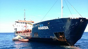 Turkish ship M/V Haksa taking on water in Adriatic, crew of 13 rescued