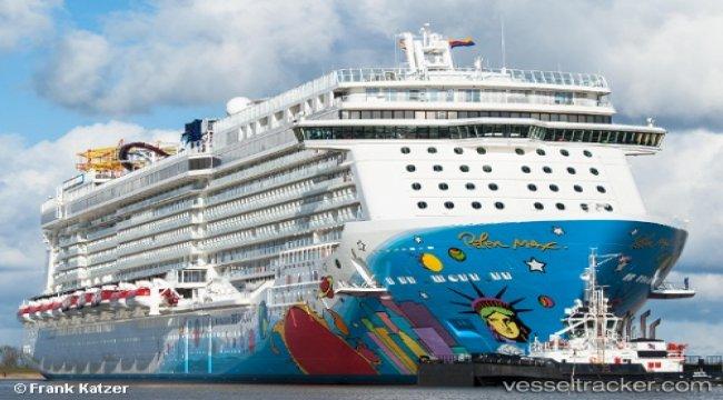 Damen Shiprepair Brest Completes Maintenance Programme On Cruise Ship 'Norwegian Breakaway'