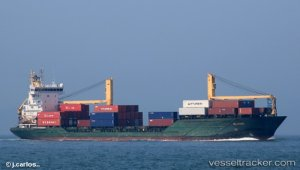 Container ship saved crew of grounded cargo vessel