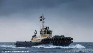 Damen ASD Tug 3212 'SVITZER Glenrock' Delivered To Svitzer Australia