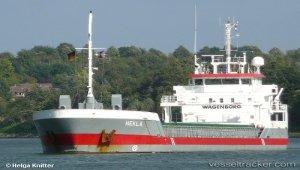 Freighter suffered engine failure