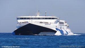 Mechanical damage off Santorini