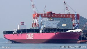 ONE Receives Delivery Of New 14,000-TEU Ultra-Large Container Ship 'ONE Minato'