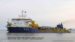 Sri Lanka shipwrecked fishermen rescued by China dredger