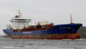 Tanker disabled in Valleyfield