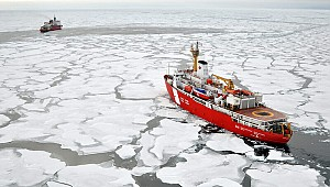 Melting ice in the Arctic opening new energy trade route