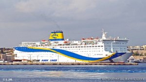 Ferry evacuated after listing to starboard side