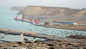 First Indian ship carrying grains cargo moors at Chabahar port