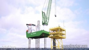 GeoSea has taken delivery of self-propelled DP2 jack-up vessel 'Apollo'