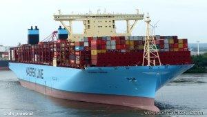 Maersk Vessel Breaks TEU Record