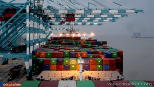 PTP makes history as 1st port to depart a vessel with final load over 19,000 TEUs