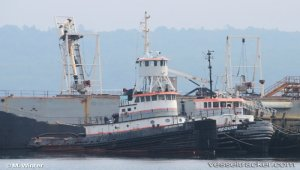 Tug becoming artificial reef