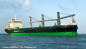 World's most eco-friendly bulk carrier delivered to Aspo's ESL Shipping
