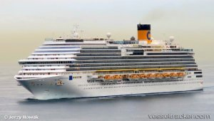 Cruise ship caused allision of bulkcarrier