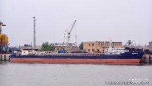 Engine trouble on Volga Caspain Ship Canal