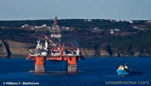 ExxonMobil Contracts Semi-Submersible West Aquarius for Work Offshore Canada