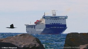 Ferry converted for Stena Line and renamed Stena Vinga