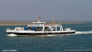 Ferry for breaking up in Esbjerg