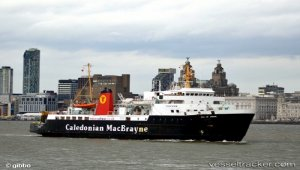 Ferry suffered propulsion trouble