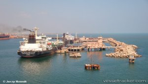 Large crude carrier to dock at port - First time for an Indian port in an enclosed harbour.