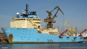 Maersk ship is testing ocean cleanup system
