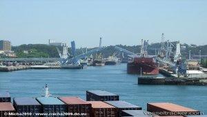 MOL Launches Large-Scale Ferry Sunflower Kirishima