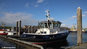 Rotortug 'RT Borkum' in Rotterdam remotely controlled from Marseille