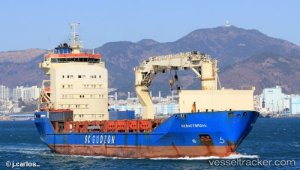 Russian freighter detained in Busan for violation of sanctions