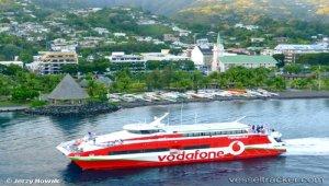 Striking Papeete port workers blocking cargo