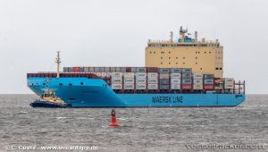 Venta Maersk passed through Northern Sea Route