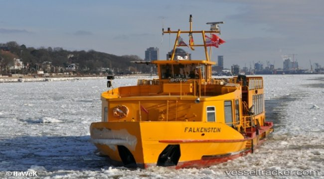 Woman fell over board of Elbe ferry