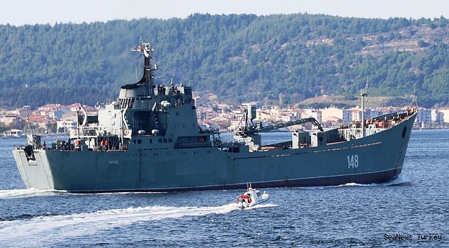 "Russian warship ""Orsk"" passed through Dardanelles"