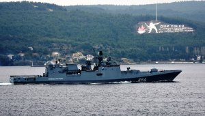 Russian warship passed through Dardanelles