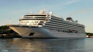 Viking Sky makes maiden call at Port of Kiel