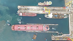 Damen Shiprepair Curaçao floating dock operational