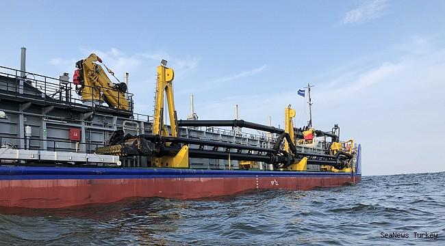Fifth Damen hopper dredger joins the ROSMORPORT fleet