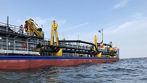 Fifth Damen hopper dredger joins the ROSMORPORT fleet