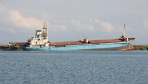 Ship aground in Samsun will be sent to Aliağa for recycling
