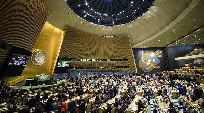 Adopting Two Resolutions, UN General Assembly Speakers