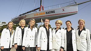 All-female crew racing for Clean Seas