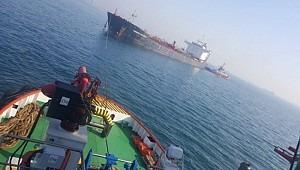 Chemical tanker M/T Theresa Success aground off Yeşilköy, Turkey
