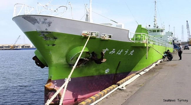 Japan-flagged cargo ships Sensho Maru and Sumiho Maru collided, three missing