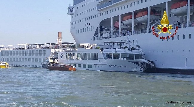 """Command blackout"": the pilot's alarm while the cruise ship MSC crashes in Venice"