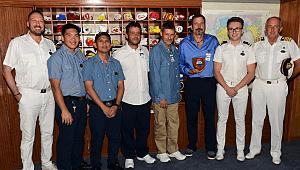 AUSTRALIA-based Sea Princess rescued three seafarers