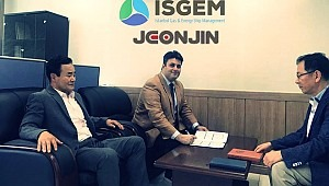ISGEM Group has signed another partnership agreement with S.Korean Jeonjin-Marin Stellar