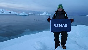 "THE FIRST TURKISH DIVING TEAM IN NORTH POLE; ""UZMAR ACT"""