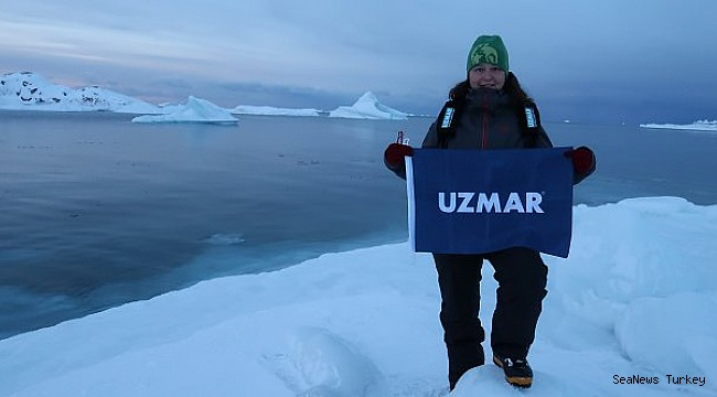 """THE FIRST TURKISH DIVING TEAM IN NORTH POLE; """"UZMAR ACT"""""""