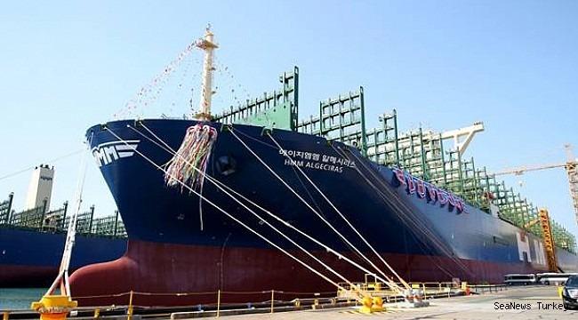HMM Names World's Largest Container Vessel, HMM Algeciras