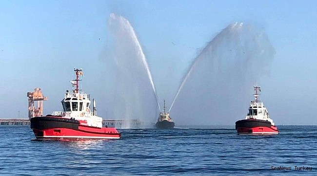 A new era dawns for Sohar Port as Svitzer takes delivery of Sanmar tugs.
