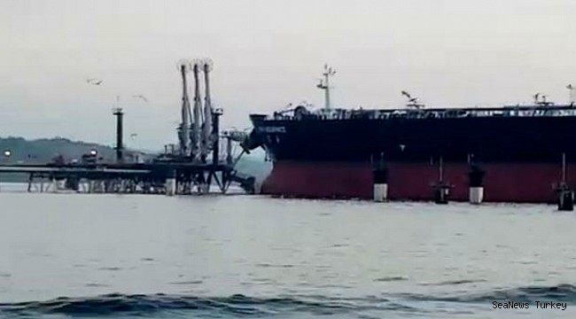 Tanker New Assurance crashed into Panama oil terminal causing damage to its structure and oil leakage